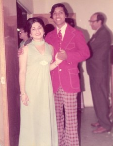 Maria Permuy, Silvio Veras at Wedding of Magdiel and Olgita, April 6, 1974, Hialeah, FL