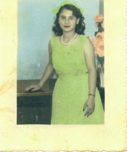 Carmen Olga Canete, July 9, 1947, 15 years old, Cuba