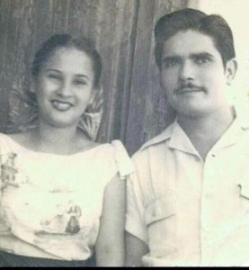 Carmen and Benito Permuy, Newlyweds in Cuba, November 16, 1948