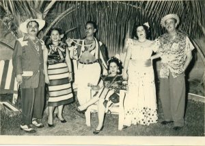 Carmen and Benito Permuy, clubbing in Carnavales, Cuba before Castro