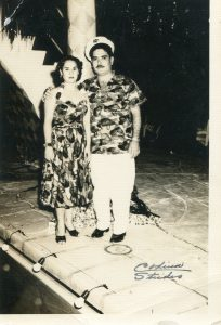 Carmen and Benito Permuy clubbing in Cuba before Castro.
