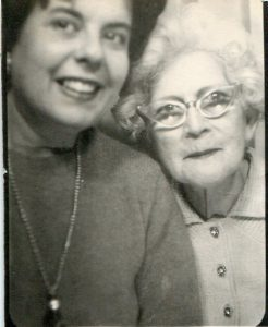 Isabel Permuy and mother Isabel Marin