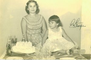 Carmen Permuy and Lupe Permuy-Leyva birthday party in Cuba before Castro