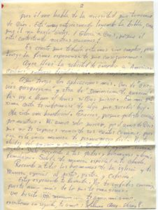 Letter from Silvio Veras to Maria 10-3-1975, page 2