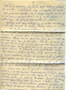 Letter from Silvio Veras to Maria 10-6-1975, page 2