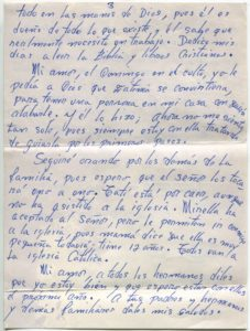 Letter from Silvio Veras to Maria 10-6-1975, page 3