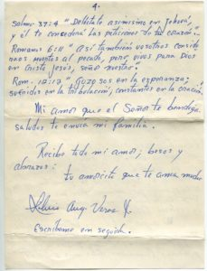Letter from Silvio Veras to Maria 10-6-1975, page 4