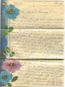 Letter from Silvio Veras to Maria 10-15-1975, page 1
