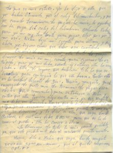 Letter from Silvio Veras to Maria 10-15-1975, page 2