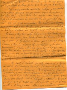 Letter from Silvio Veras to Maria 10-15-1975, page 3