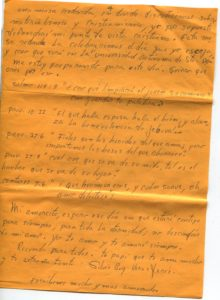Letter from Silvio Veras to Maria 10-15-1975, page 4