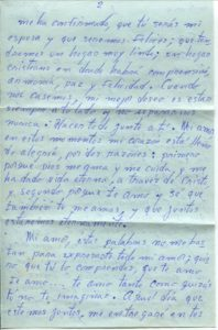 Letter from Silvio Veras to Maria 10-21-1975, page 2