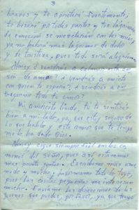 Letter from Silvio Veras to Maria 10-21-1975, page 3