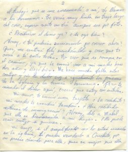 Letter from Silvio Veras to Maria 10-30-1975, page 2