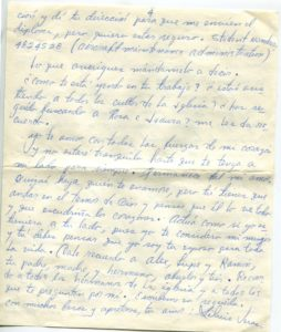 Letter from Silvio Veras to Maria 10-30-1975, page 4