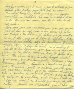 Letter from Silvio Veras to Maria 11-19-1975, page 3