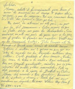 Letter from Silvio Veras to Maria 11-19-1975, page 4