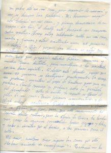 Letter from Silvio Veras to Maria 11-28-1975, page 2